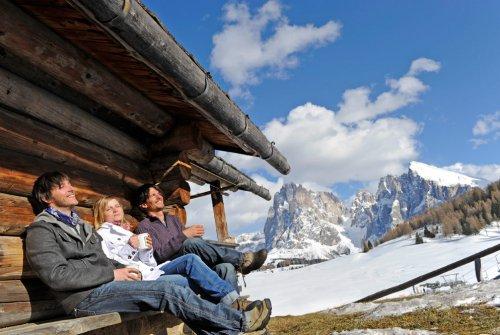 Winterwandern Seiser Alm